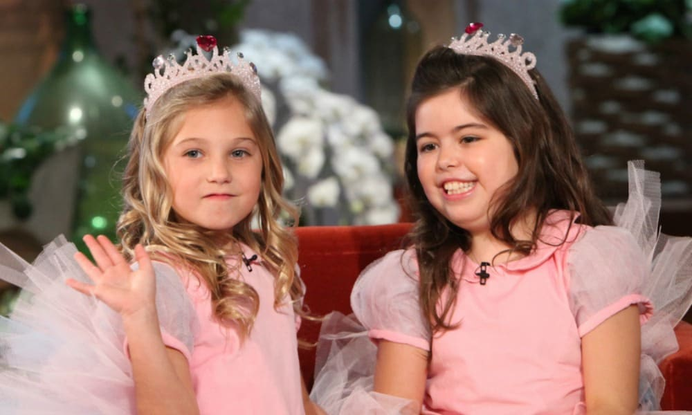 Adorable YouTube stars Sophia Grace and Rosie are now all grown up