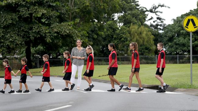 Cairns Students Hit The Road For Walk Safely To School Day Cairns Post