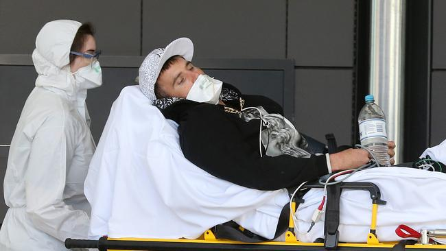 A man was cleared of the disease at Gold Coast University Hospital earlier this month. Pic: Glenn Hampson