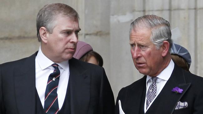 Prince Charles had a big hand in his brother's axing. Picture: Ian Kington/AFP