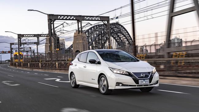 The Nissan Leaf is the world's best selling electric car.