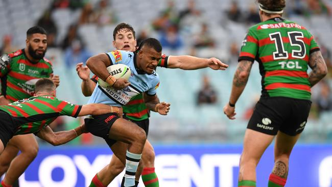 Sione Katoa is one of the better CTW's with a chance of being on waivers. Picture: AAP.