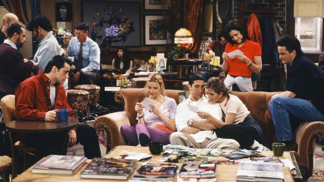 Friends turned the six main actors into the world's biggest stars.