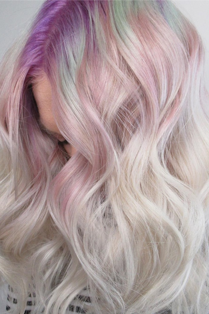 Gem roots are Instagram's next big hair obsession and, yes, it's all about crystals