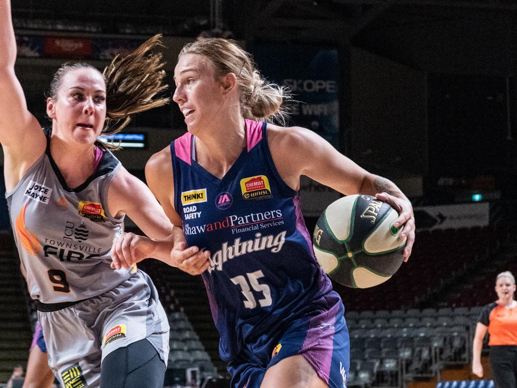 Nicole Seekamp could face the Southside Flyers. Picture: Sue McKay