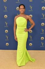 Regina King attends the 70th Emmy Awards at Microsoft Theater on September 17, 2018 in Los Angeles, California. (Photo by Neilson Barnard/Getty Images)