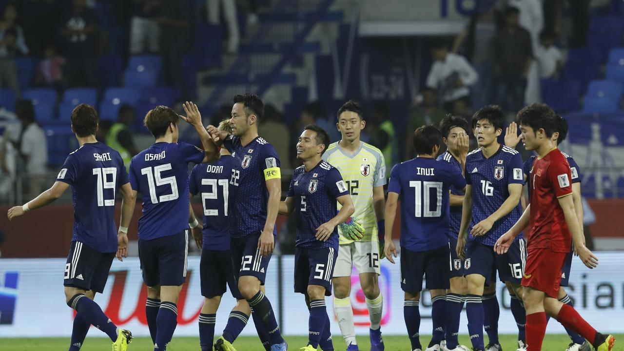 Japan will go on to face favourites Iran in the semi-finals.