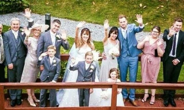 The family can't wait to do the same thing next year for Gemma. Source: The Sun
