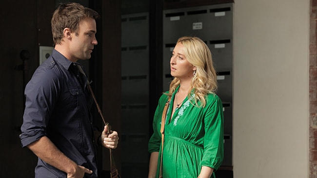 Matt Le Nevez and Asher Keddie in a scene from the upcoming new season of Offspring. Picture: Supplied / Ten