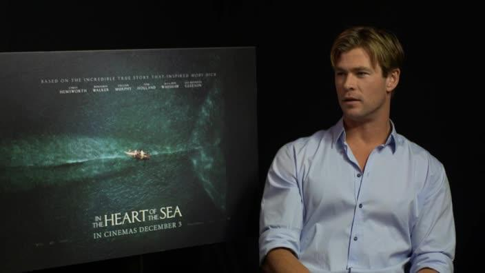 Chris Hemsworth speaks about his upcoming film 'In the Heart of the Sea'