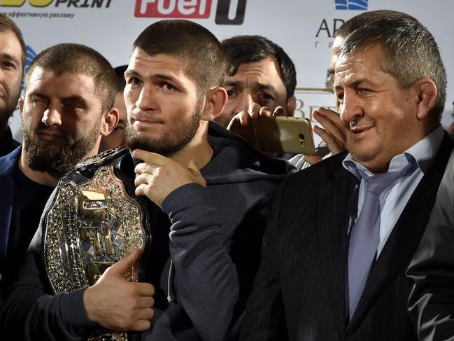 Khabib Nurmagomedov continues to take aim at the UFC.