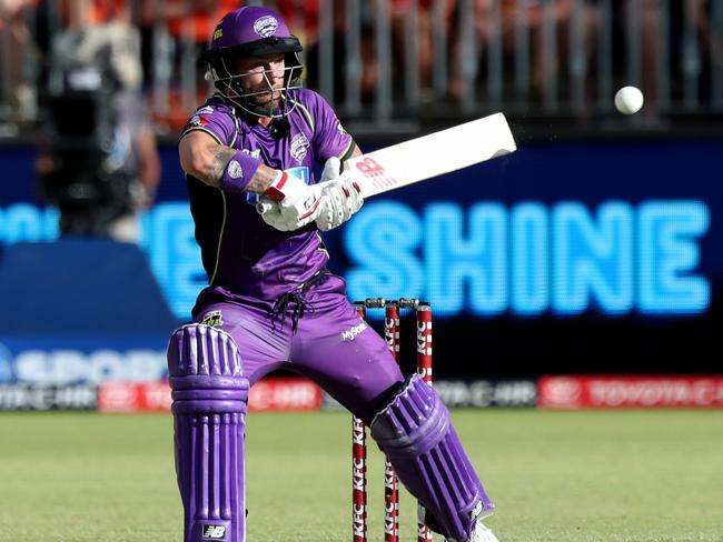 Matthew Wade didn't get a chance to use his bat on Sunday.