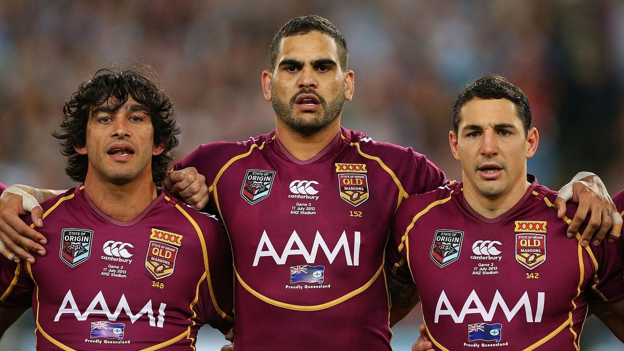 Billy Slater found room for long-time teammates Johnathan Thurston and Greg Inglis in his all-time Maroons side.