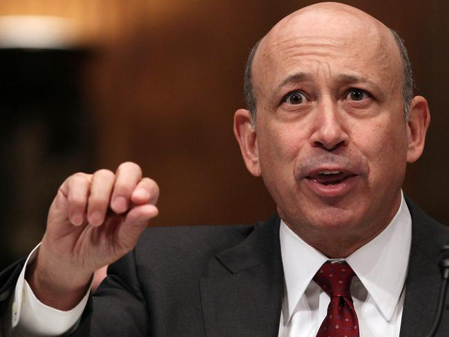 Ruthless: Goldman Sachs Group chairman and CEO Lloyd Blankfein.