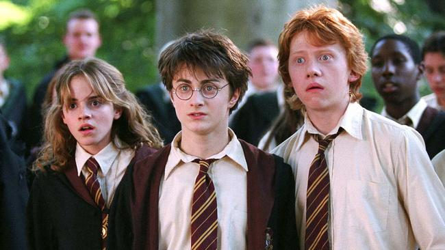 Emma Watson, Daniel Radcliffe and Rupert Grint became household names. Credit: AP Photo/Warner Bros.