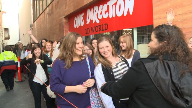 One Direction madness in Perth