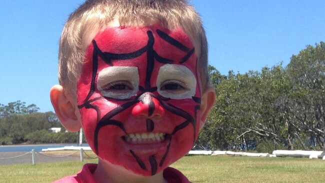 Three-year-old William Tyrrell loved dressing up as Spider-Man.