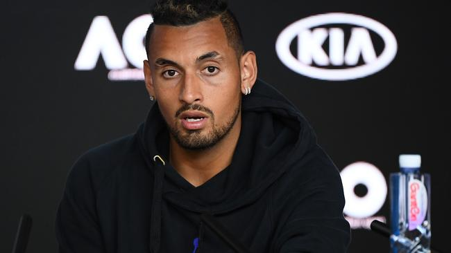 Filthy Kyrgios slams 'messed up' video