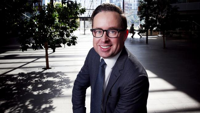 Alan Joyce has become a household name thanks to his high-profile role as Qantas CEO. Picture: John Feder