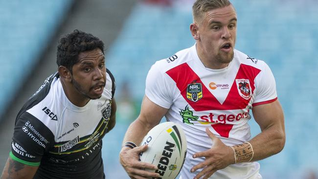 Dragons fullback Matt Dufty was in good touch against Hull.
