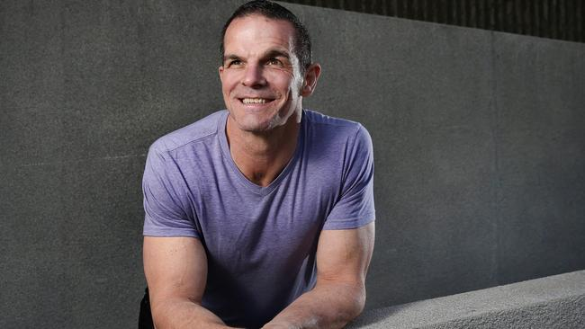 Ian Roberts pictured in 2016 in a promotional shoot for an acting gig.