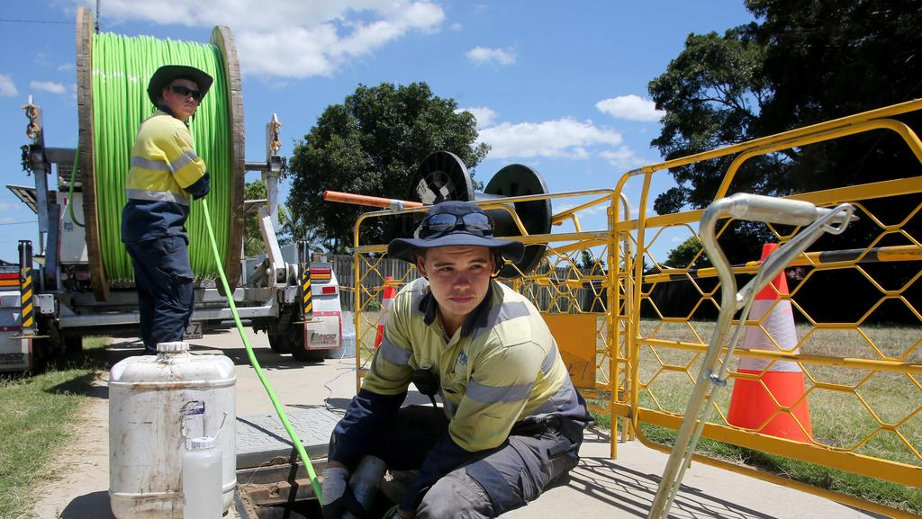 Newsagent Garry Grant and his troubles with NBN, Optus and Telstra