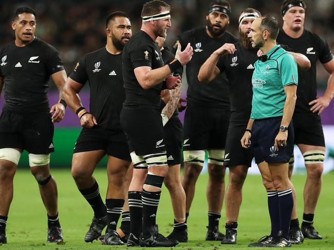 Kieran Read is teflon-coated at the 2019 Rugby World Cup.