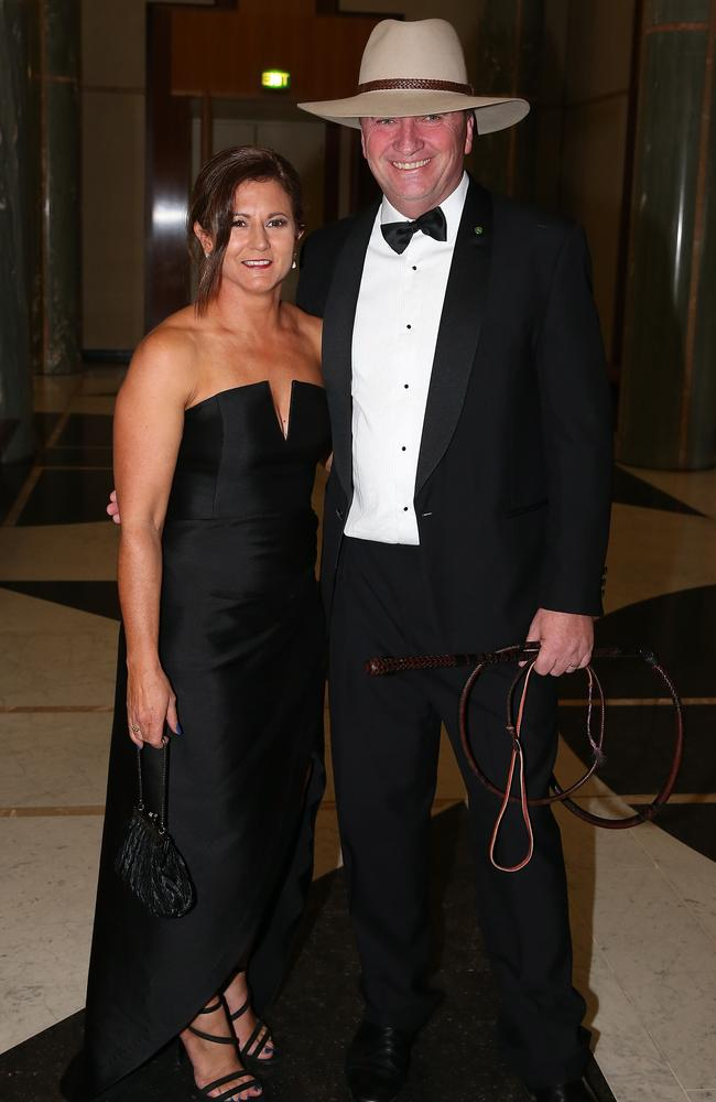 She wasn't going to let Barnaby's affair with his staffer Vikki Campion affect her. So instead of unravelling, she aimed to get the best out of herself. Picture Ray Strange