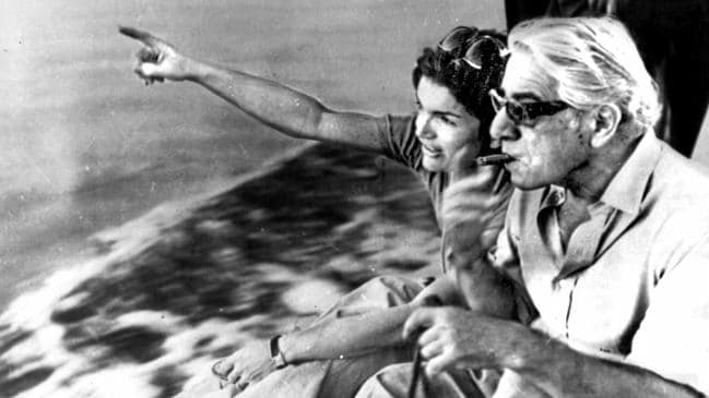 Jackie Kennedy and Aristotle Onassis married on this day in 1968.
