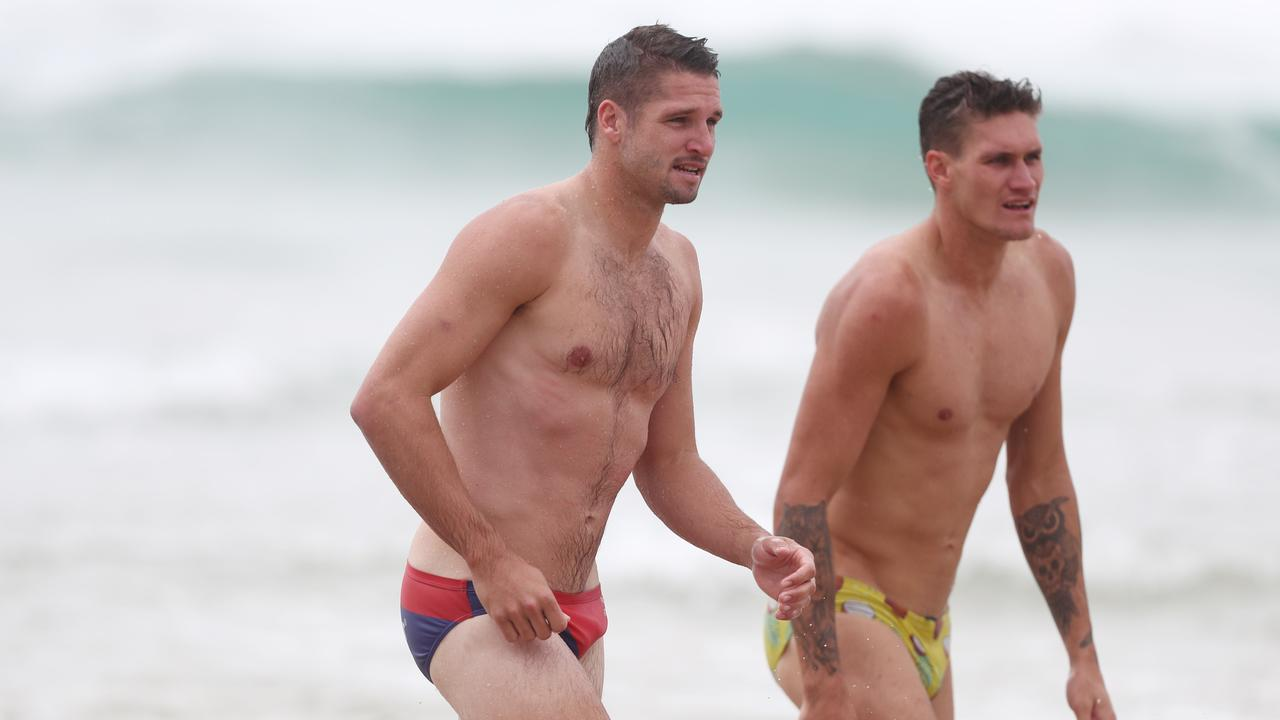 Rory Lobb is confident he can play in the same side as Jesse Hogan. Picture: Chris Hyde