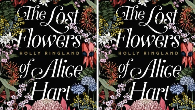 Holly's book 'The Lost Flowers of Alice Hart' was an emotional read about violence against women. Photo: Supplied