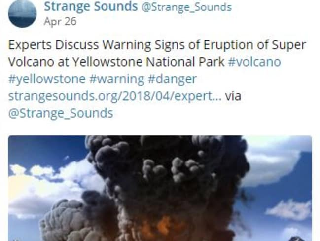 Underground activity at Yellowstone sparks speculation of whether the super volcano will erupt.