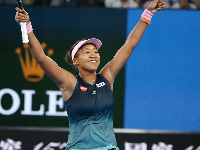 Osaka is chasing a second straight grand slam title.
