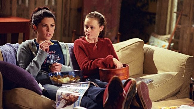 Lorelai would never have done this with Rory. Photo: Gilmore Girls