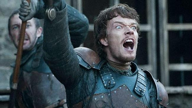 He's angry because Game of Thrones isn't back until next year.