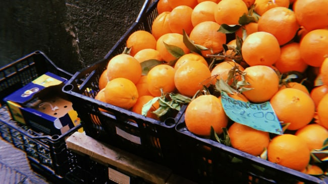 Take time to smell the oranges. Photo: Supplied