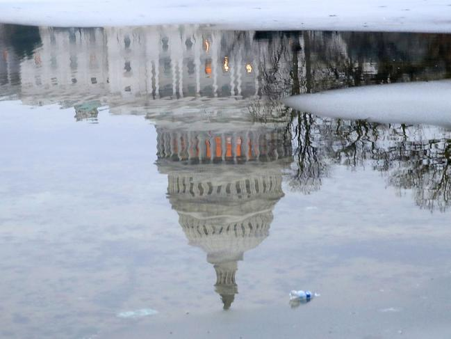 The U.S. government is in the 28th day of a partial shutdown while the stalemate continues between President Donald Trump and congressional Democrats. Picture: AFP