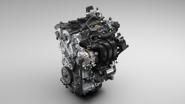 The new Yaris features the option of a hybrid engine.