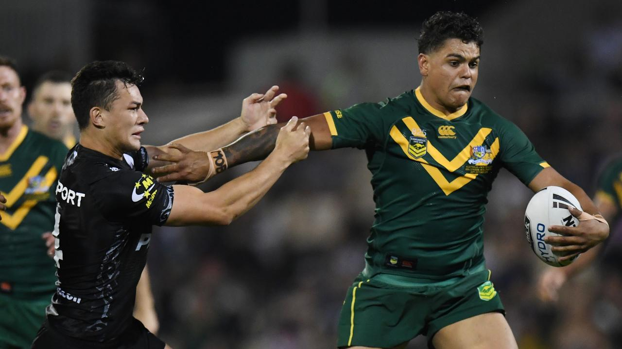 Mitchell has already played for Australia in rugby league