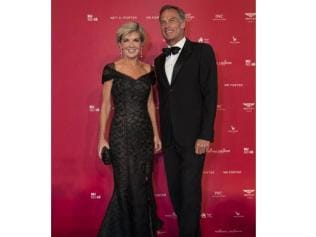 Julie Bishop at the Powerhouse party