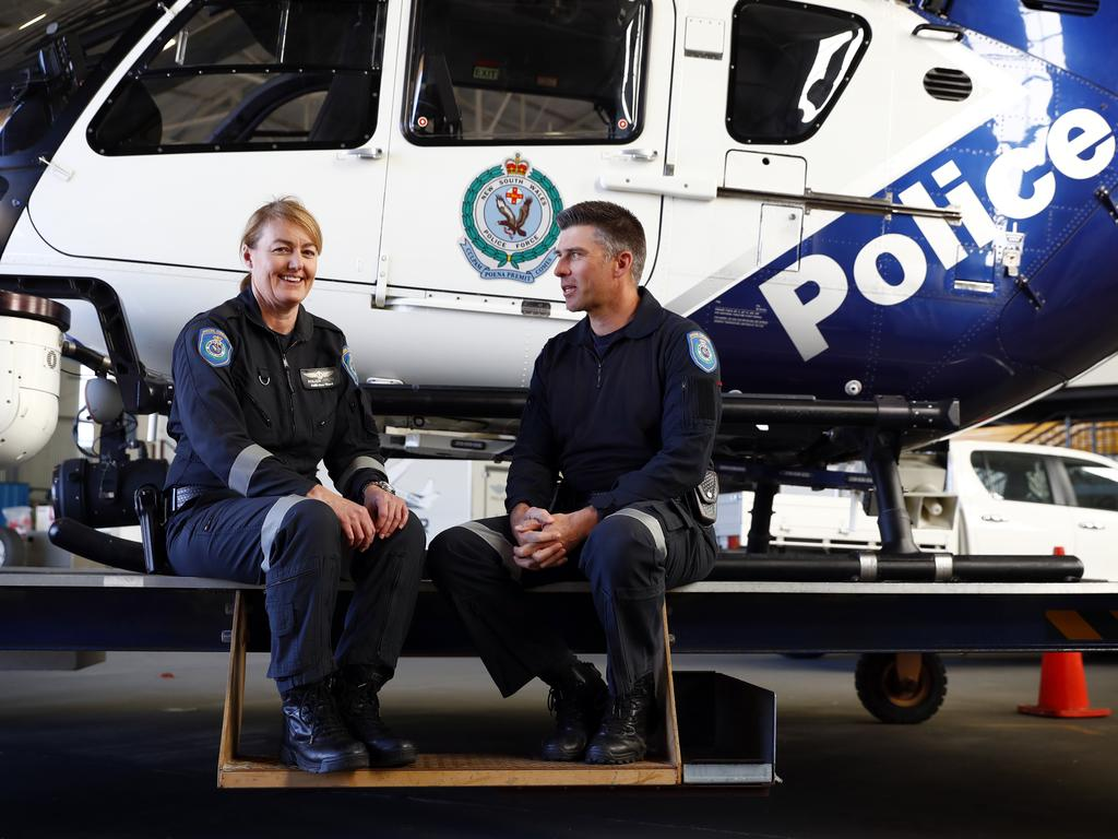 NSW Police first female pilot Salli-Ann Ward chosen to run