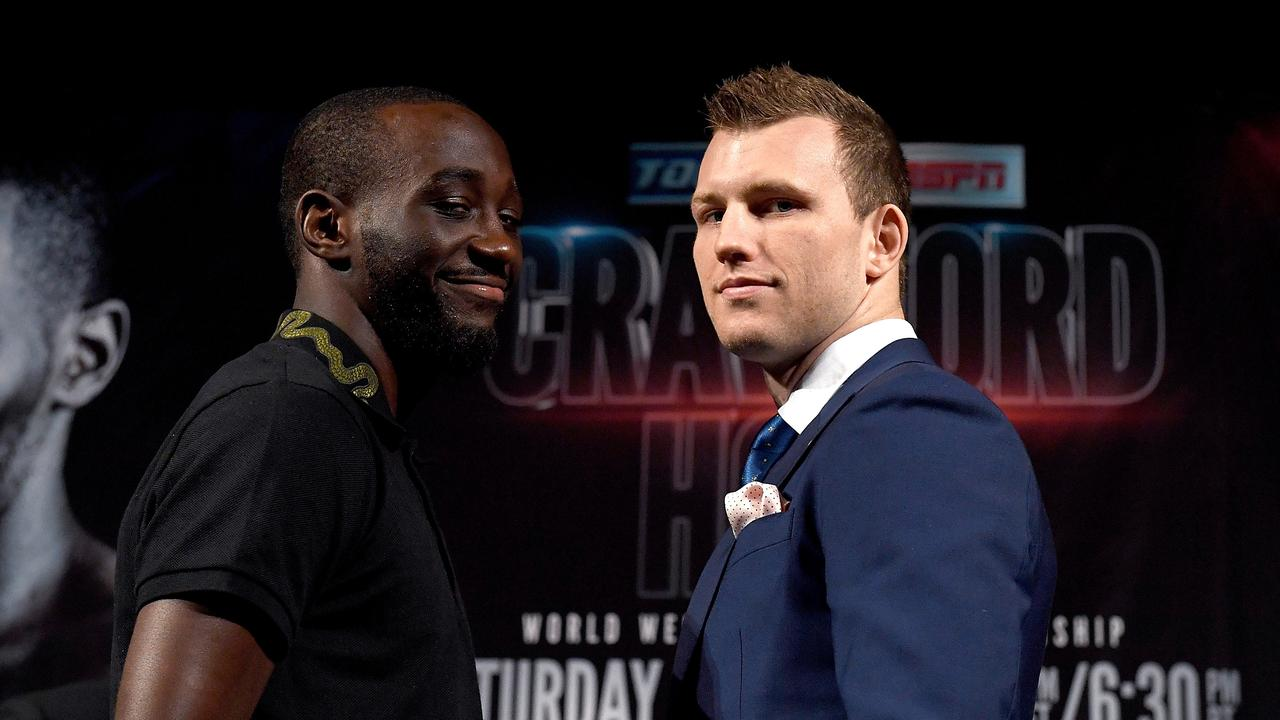 Is Crawford underestimating his Aussie opponent?