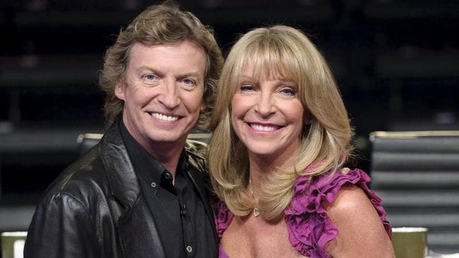 Bonnie Lythgoe with her then-husband Nigel back in 2009 on set of So You Think You Can Dance. Picture: Supplied
