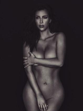Toned Kim. Picture: Kim Kardashian/Instagram