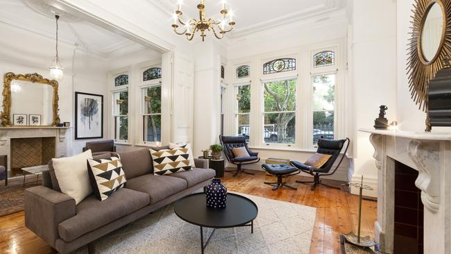 The house sold in its $3.4-$3.6 million price guide for an undisclosed sum.