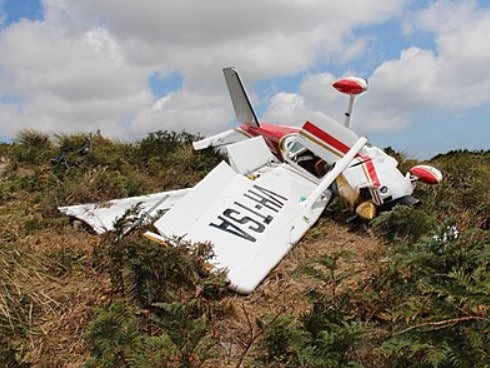 The ATSB appropriated no blame for the crash. Picture: ATSB