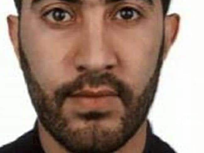 An undated photo of Rachid Redouane, who was seen bidding farewell to his toddler daughter Amina just three hours before launching the London Bridge attack with two accomplices. Picture: Metropolitan Police handout.