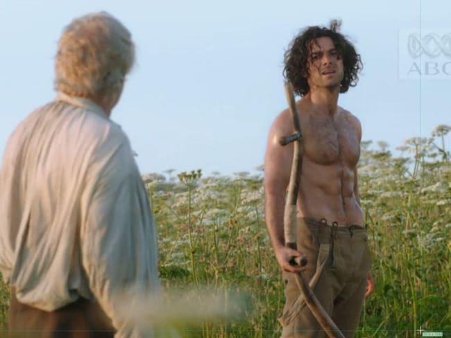 Aidan Turner as Ross Poldark in the BBC drama series. Photo: Supplied