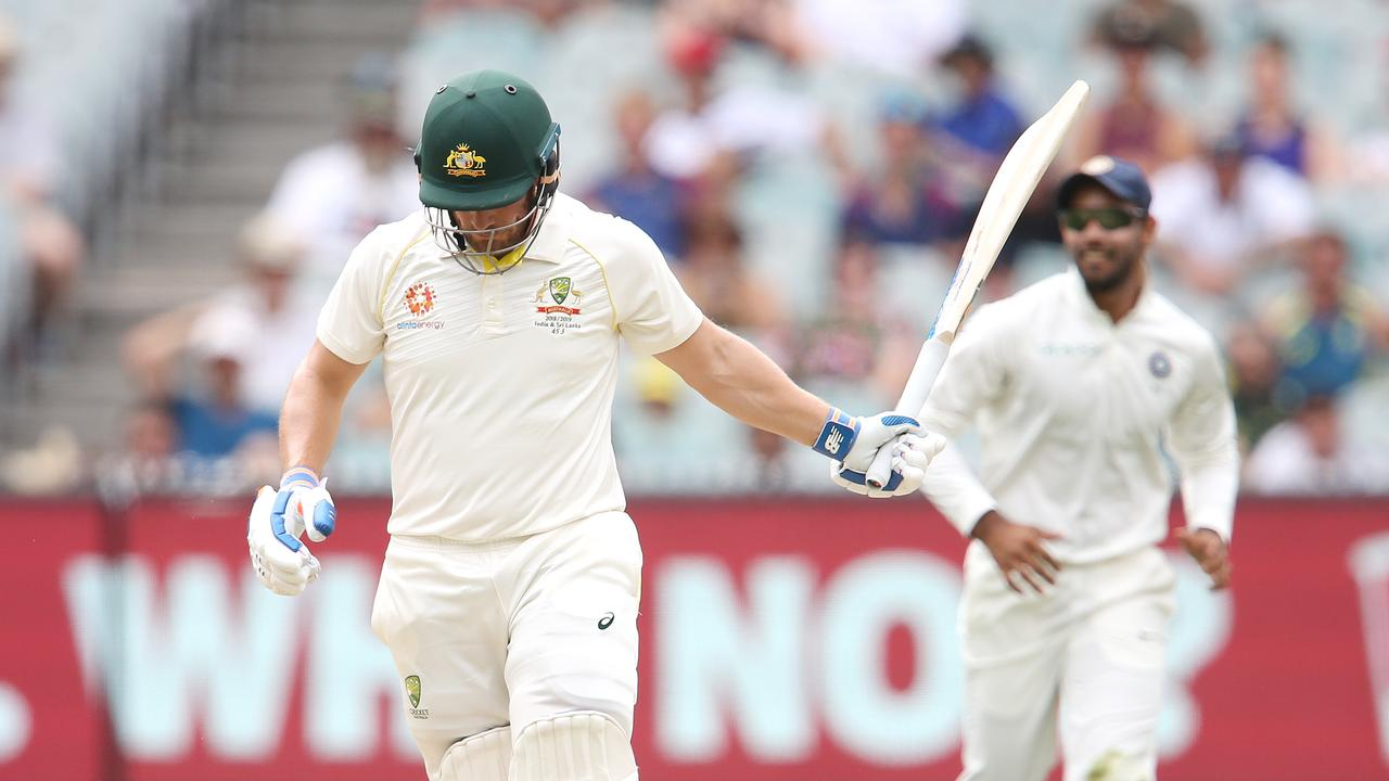 Finch was dropped during last summer's India series.