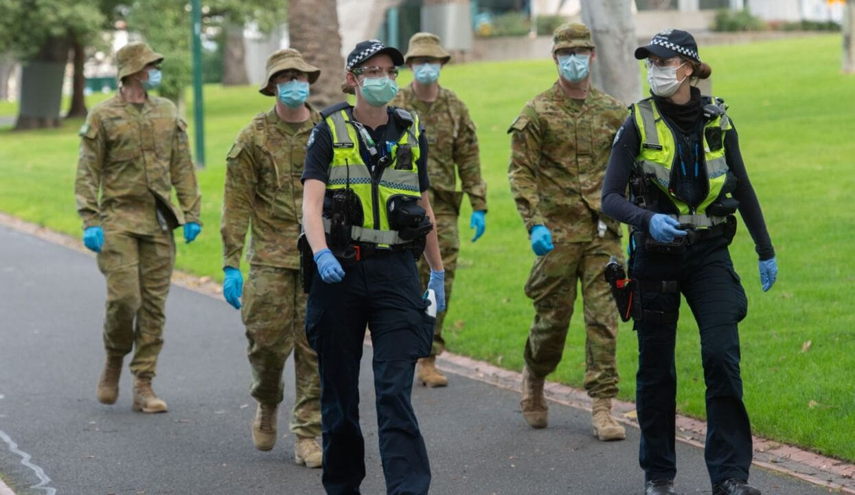 Vic police arrest 15, issue 150 infringement notices after anti-lockdown protest